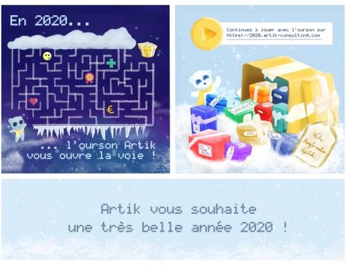 Artik vous présente ses meilleurs vœux pour 2020